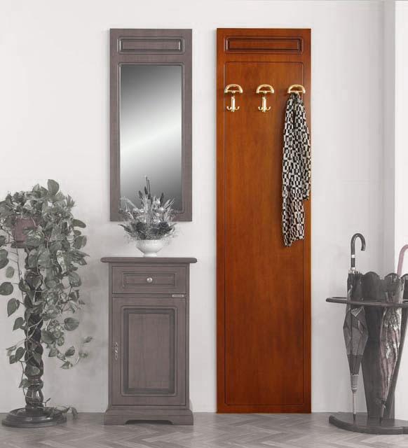 vestiaire porte manteau mural 3 crochets lamaisonplus. Black Bedroom Furniture Sets. Home Design Ideas