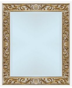 Miroir mural en bois sculpté Arteferretto