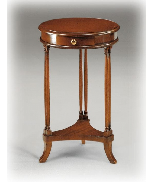 Petite table ronde avec tiroir lamaisonplus - Table basse ronde avec tiroir ...