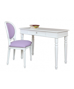 Ensemble bureau et chaise, chaise, bureau, style classique, bureau de style, ameublement de style pour la chambre, ameublement de style classique