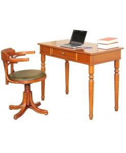 Bureau et chaise tournante, compléments d'ameublement pour le bureau
