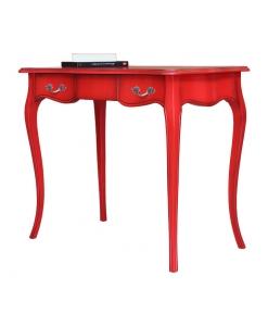 bureau rouge, bureau d'écriture