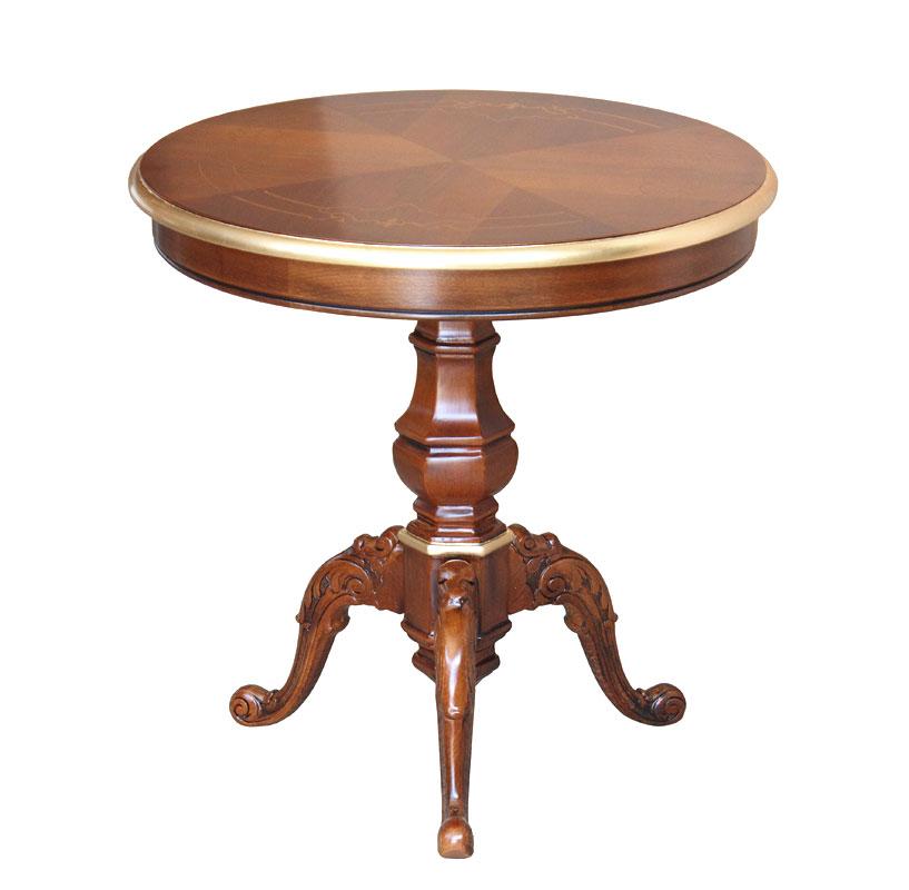table de th ronde 60 cm diam tre lamaisonplus. Black Bedroom Furniture Sets. Home Design Ideas