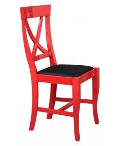 chaise rouge, chaise de cuisine, chaise rouge de bureau, chaise noir et rouge