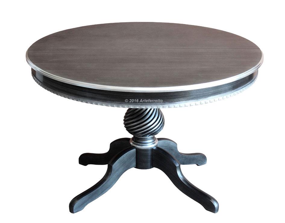 table ronde diam tre 120 cm 1 allonge de 40 cm pictures to. Black Bedroom Furniture Sets. Home Design Ideas