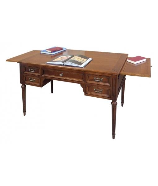 bureau louis xvi 5 tiroirs lamaisonplus. Black Bedroom Furniture Sets. Home Design Ideas
