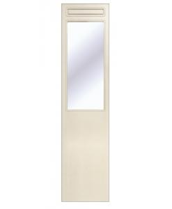 Panneau miroir laqué en bois pour l'entrée Arteferretto