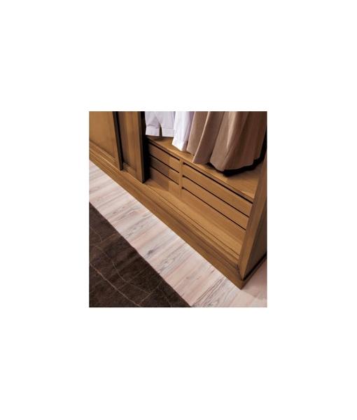 Armoire garde-robe en bois, tiroirs