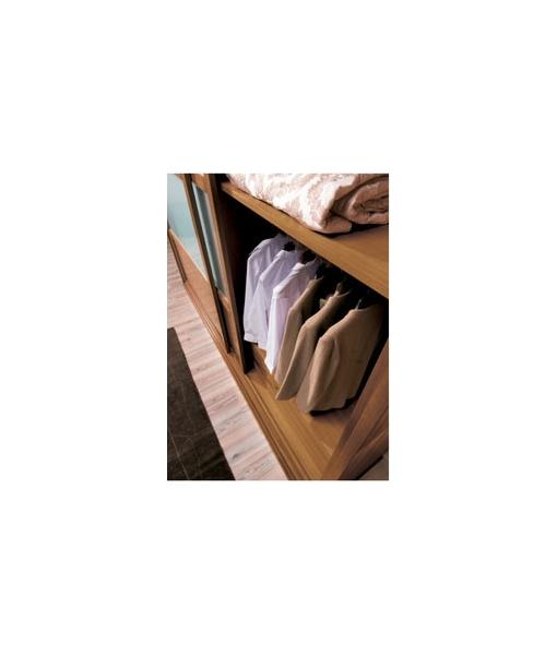 Armoire garde-robe en bois, penderie