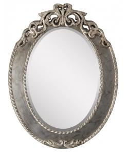 Miroir ovale en bois Arteferretto