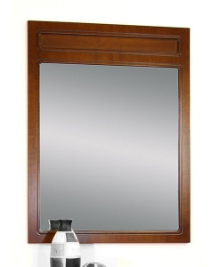 Grand miroir rectangulaire en bois Arteferretto
