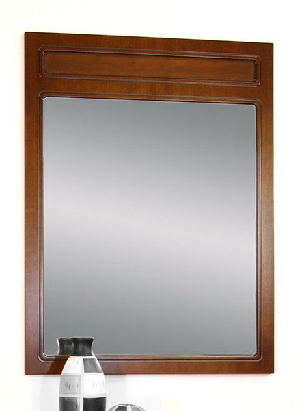 grand miroir rectangulaire en bois ebay. Black Bedroom Furniture Sets. Home Design Ideas