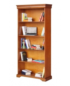 bibliothèque avec étagères