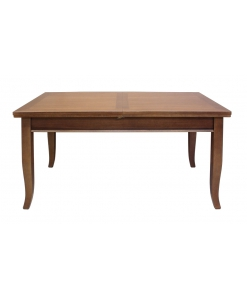 table rectangulaire extensible, table classique, table en bois massif
