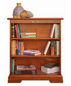 bibliothèque basse avec 2 étagères réglables Arteferretto