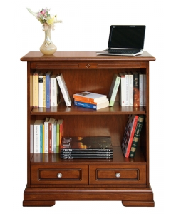 bibliothèque basse, bibliothèque 1 tiroir