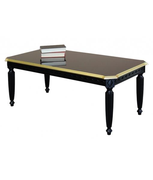 Table basse noire réf. 236NGD