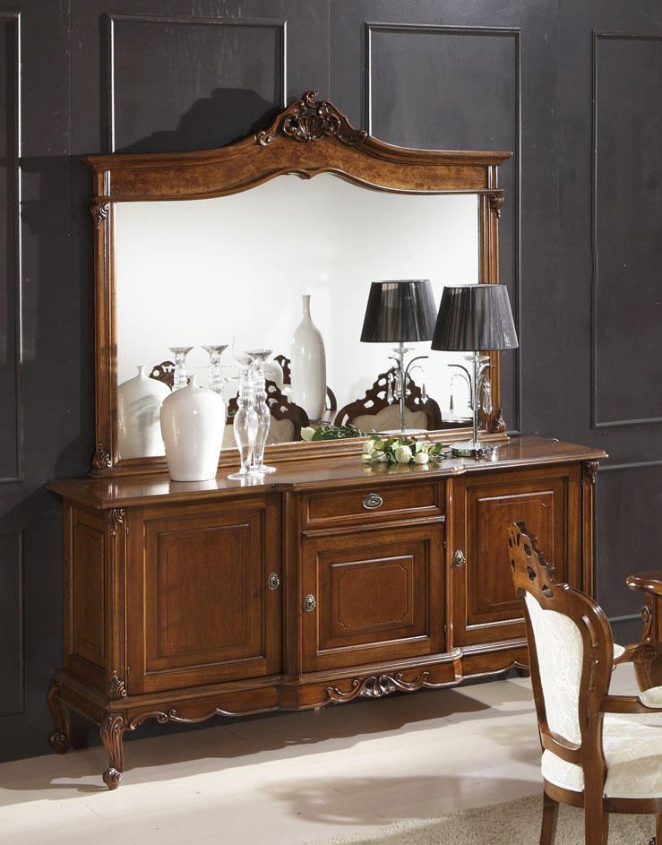 buffet bahut pour s jour 3 portes lamaisonplus. Black Bedroom Furniture Sets. Home Design Ideas