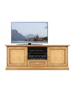 Meuble tv design classique 150 cm largeur Arteferretto