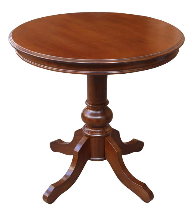 Petite table ronde 80 cm table de th table de salon for Petites tables rondes