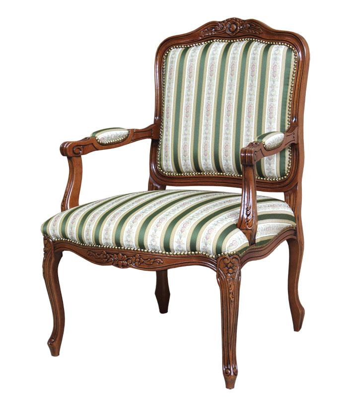 fauteuil classique berg re lamaisonplus. Black Bedroom Furniture Sets. Home Design Ideas