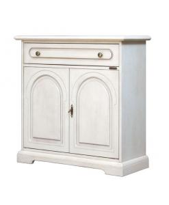 Meuble buffet de rangement avec tiroir lamaisonplus - Petit meuble de rangement salon ...