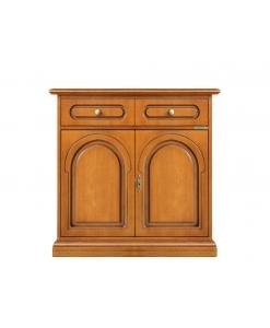 meuble buffet classique 2 portes, buffet classique en bois