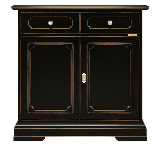 Buffet classique 2 portes avec tiroir lamaisonplus for Largeur porte classique