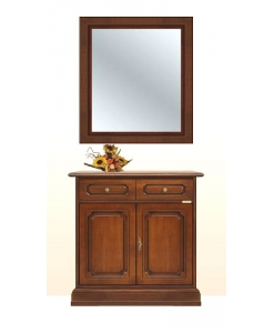 Ensemble buffet et miroir classique Arteferretto