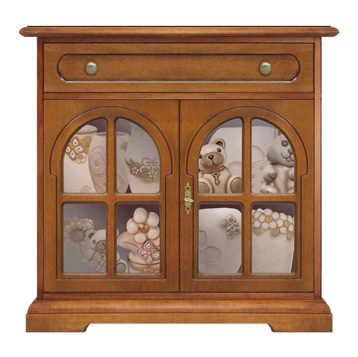petit buffet classique bahut bas 1 tiroir mobilier. Black Bedroom Furniture Sets. Home Design Ideas