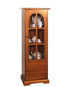 meuble vitrine, vitrine, vitrine classique, ameublement pour le salon