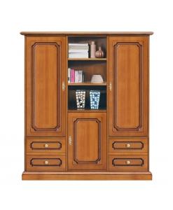 armoire en bois, armoire de rangement
