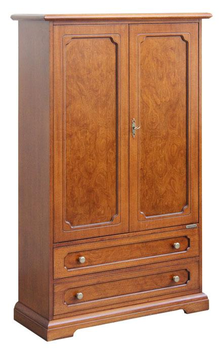petite armoire en ronce de noyer lamaisonplus. Black Bedroom Furniture Sets. Home Design Ideas