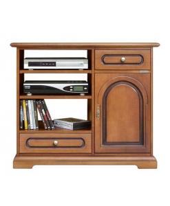 meuble tv , meuble tv en bois, meuble tv classique, ameublement pour le salon