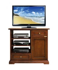 meuble tv haut classique, meuble tv en bois, meuble tv pour le salon, petit meuble tv