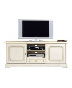 meuble tv 130 cm lamaisonplus. Black Bedroom Furniture Sets. Home Design Ideas