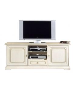 Meuble banc tv classique 150 cm largeur Arteferretto
