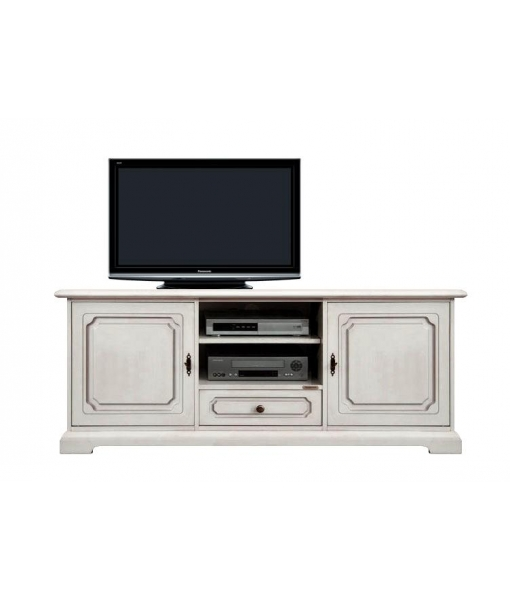 meuble banc tv classique 150 cm largeur arteferretto. Black Bedroom Furniture Sets. Home Design Ideas