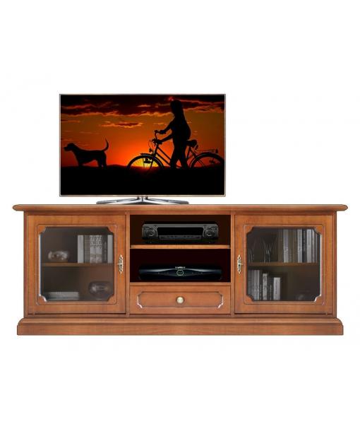 Banc tv classique portes vitr es lamaisonplus for Largeur porte classique