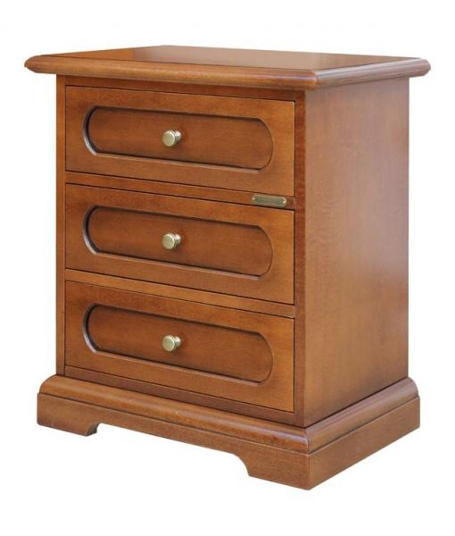 table de chevet merisier lamaisonplus. Black Bedroom Furniture Sets. Home Design Ideas