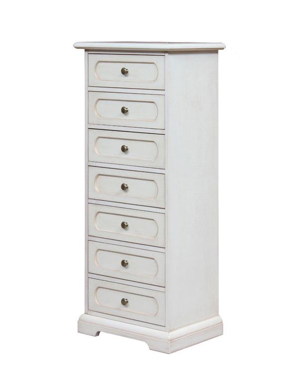 chiffonnier de style 7 tiroirs lamaisonplus. Black Bedroom Furniture Sets. Home Design Ideas