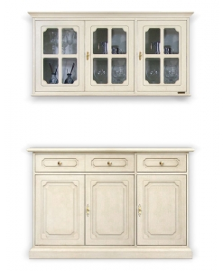 buffet et vitrine, buffet, vitrine murale, ameublement cusine