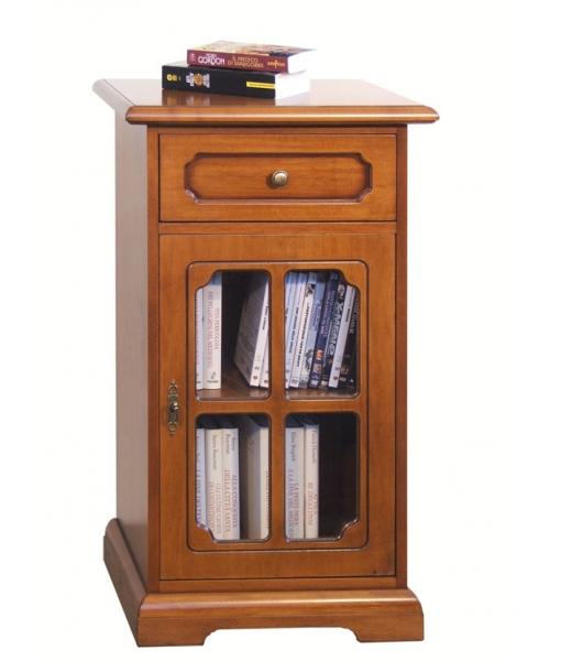 meuble t l phone porte vitr e classique lamaisonplus. Black Bedroom Furniture Sets. Home Design Ideas