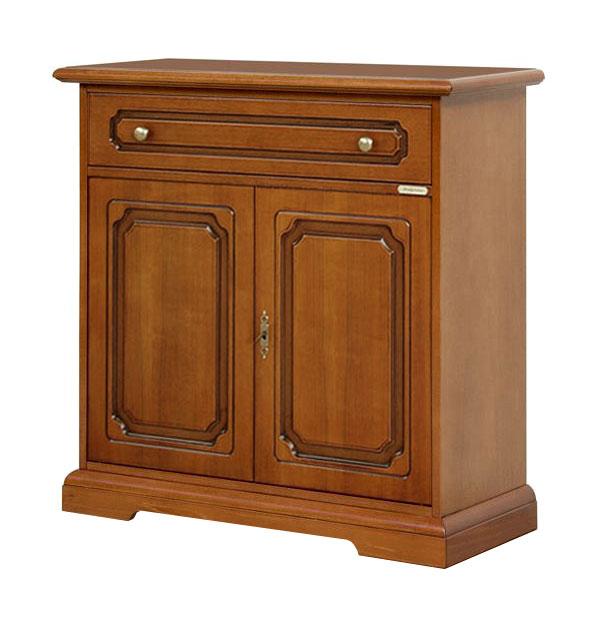 petit meuble buffet classique 2 portes lamaisonplus. Black Bedroom Furniture Sets. Home Design Ideas