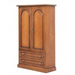 Armoire 2 portes 2 tiroirs, placard petite taille