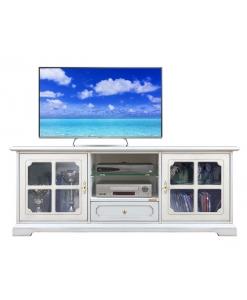 Meuble tv portes croisées style classique Arteferretto
