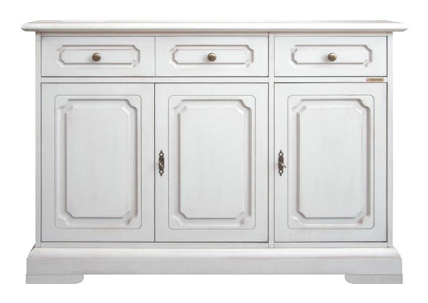 Buffet classique 3 portes 2 tiroirs lamaisonplus for Largeur porte classique