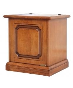 Petit coffre de rangement, coffre en bois, coffre petit, coffre