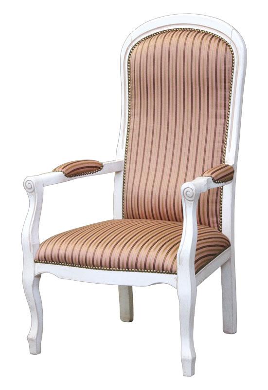 fauteuil voltaire laqu lamaisonplus. Black Bedroom Furniture Sets. Home Design Ideas