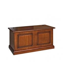 Coffre de rangement classique en bois Arteferretto